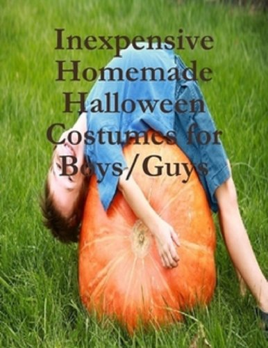 Fun Homemade Halloween Costumes For Kids (Inexpensive Homemade Halloween Costumes for Boys/Guys)