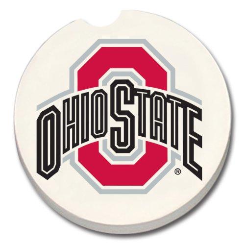 NCAA State Buckeyes Absorbent Coaster