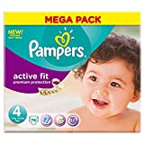 Pampers Active Fit Size 4 Maxi 7-18kg (76)