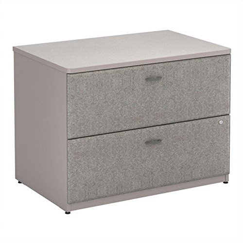 Pewter Colored Lateral Filing Cabinet – Series A