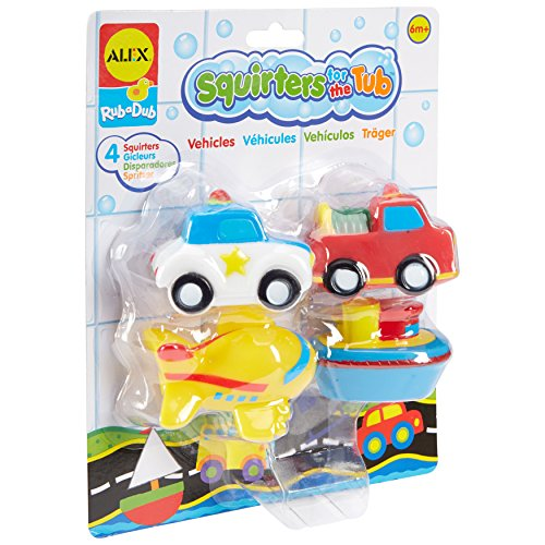 Alex Toys Squirters (ALEX Toys Rub A Dub Squirters for the Tub -Vehicles)