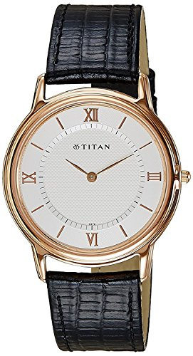 Titan Men's 1488WL01 Orion Classic Slim Watch ()