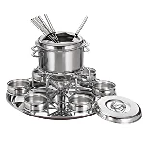 Tramontina Gourmet Collection Professional 16 Pc. Stainless Steel Fondue Set