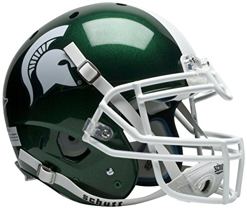 NCAA Michigan State Spartans Authentic XP Football Helmet by Schutt