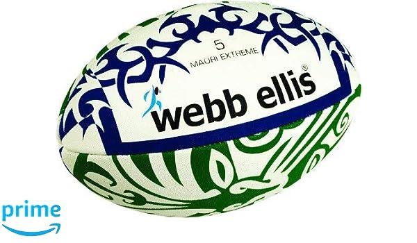 Webb Ellis Maori Extreme - Balón de Rugby para Hombre Green/Navy ...