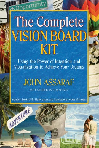 The complete vision board kit using the power of intention and the complete vision board kit using the power of intention and visualization to achieve your fandeluxe Image collections