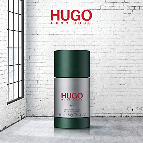 HUGO Man Deodorant stick for Men, 2.4 FL. OZ.