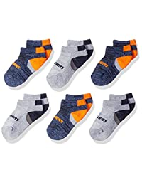 Skechers boys Skechers Boys' 6 Pack Low Cut Socks