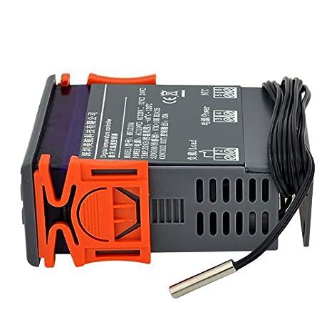 Ckeyin® Auto Termostato Digital Controlador de Temperatura para ...