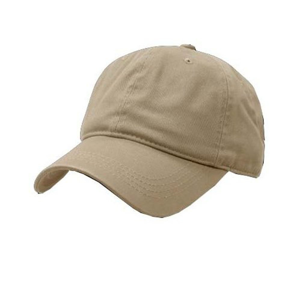 DECKY Two Ply Polo Caps Baseball Hats (Adjustable 2a23d725288a