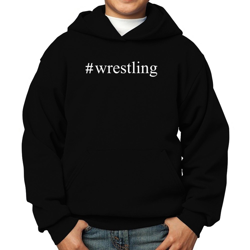 Teeburon Wrestling Hashtag Boy Hoodie