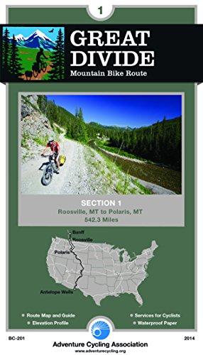 - Great Divide Mountain Bike Route #1: Roosville, Montana - Polaris, Montana (542 Miles)
