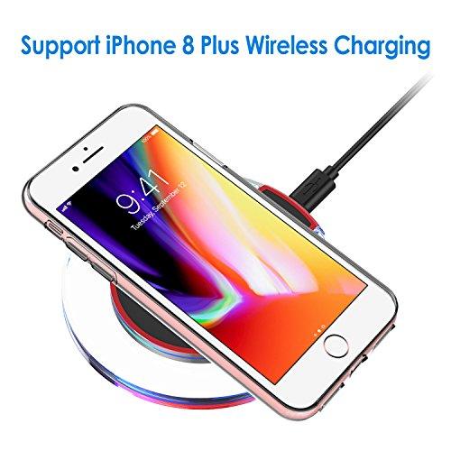 "JETech Apple iPhone 8 Plus iPhone 7 Plus Case 5.5"" Shock-Absorption Cover Bumper Anti-Scratch Clear Back (HD Clear)"
