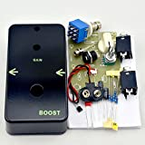 TTONE DIY Vintage Booster Guitar Effects Pedal Clean Boost True Bypass Metal Stompbox Kit Black