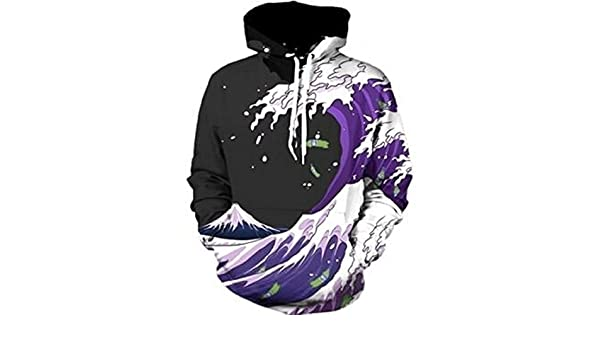 3D Men Hoodie Hot Anime Sweatshirts With Hoody Cool Fashion Casual Women Men Long Sleeve Hoodies 04 at Amazon Mens Clothing store:
