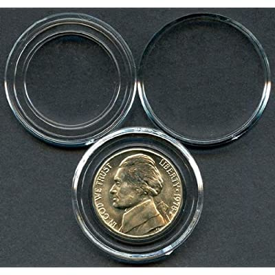 "25 Air-Tite Direct Fit ""A21"" Coin Holders NICKEL: Toys & Games"