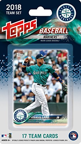 fan products of Seattle Mariners 2018 Topps Factory Sealed Special Edition 17 Card Team Set with Felix Hernandez and Robinson Cano Plus