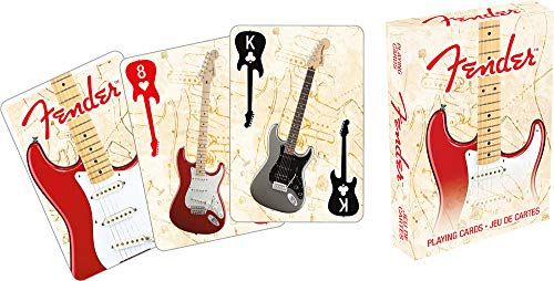 Aquarius Fender Stratocaster Playing Cards Playing - Deck Music