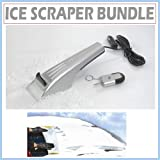 Heated Ice Scraper and Hot Key Set with Windshield Cover Protector for your Vehicle.