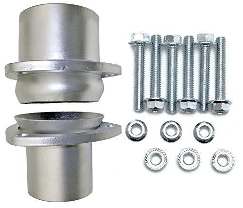 "Price comparison product image HEDMAN HEDDERS (21152) 3"" Mild Steel Ball / Socket Header Collector Conversion Kit"