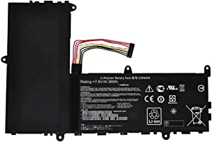 """YNYNEW Replacement Battery Compatible with Asus EeeBook X205T X205TA X205TA-BING-FD015B 11.6"""" Series C21N1414 7.6V,38Wh"""