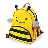 """Toddler Backpack, 12"""" Bee School Bag, Multi"""