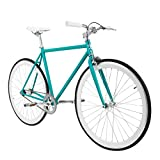 Zydek Fixed Gear Single Speed Fixie Road Bike with Flip Flop Hub Size Medium (54cm)