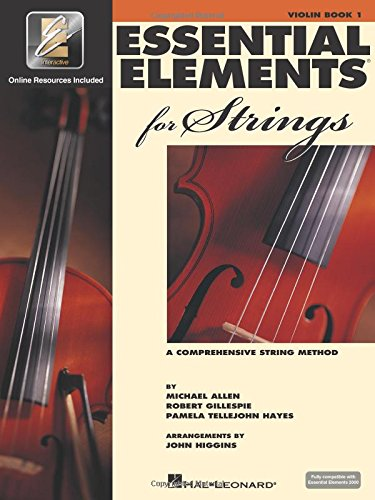 Learn 1 Trio Book - Essential Elements for Strings - Book 1 with EEi: Violin