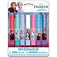 My Party Suppliers Disney Frozen 2 Lip Gloss Set 7 Pack / Disney Frozen elsa Flavoured Lip Gloss