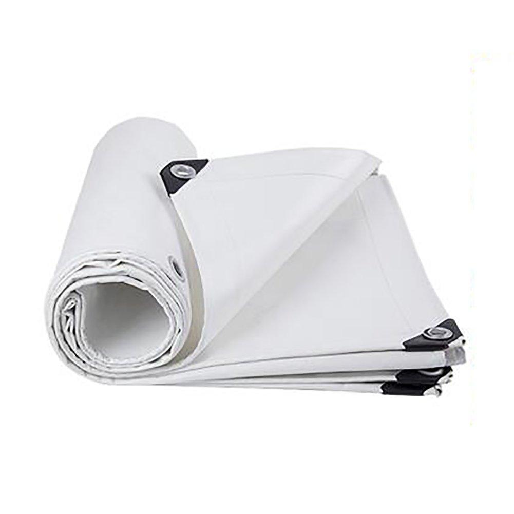 Zeltplanen Weiße Wasserdichte Tuch-Plane-Plane-regendichte Stoff-Isolierung Im Freien Verdicken Polyester-Linoleum-Plane