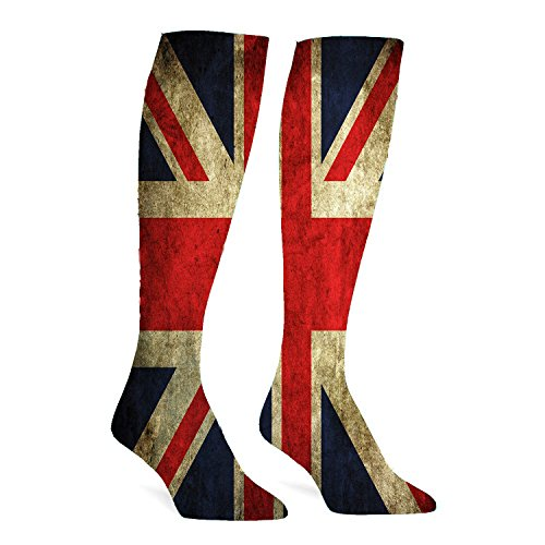Union Jack Athletic Socks Knee High Socks For Men&Women Warmer Stockings Sport Long Sock Tube Long Stockings Casual Socks