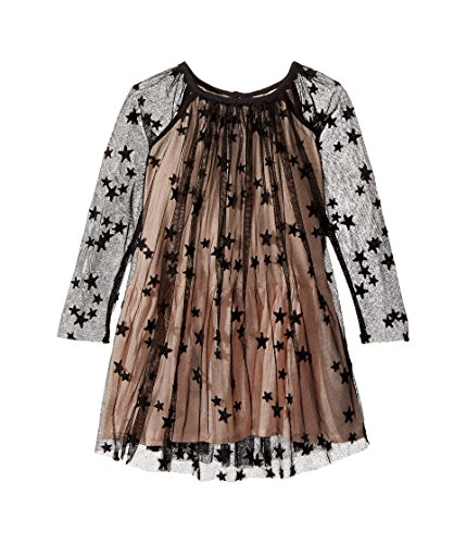 Stella McCartney Kids Baby Girl's Misty Star Embroidered Tulle Dress (Toddler/Little Kids/Big Kids) Black Dress by Stella McCartney Kids