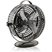 WBM HBM-7015A13 Himalayan Breeze Decor Black Chrome Fan