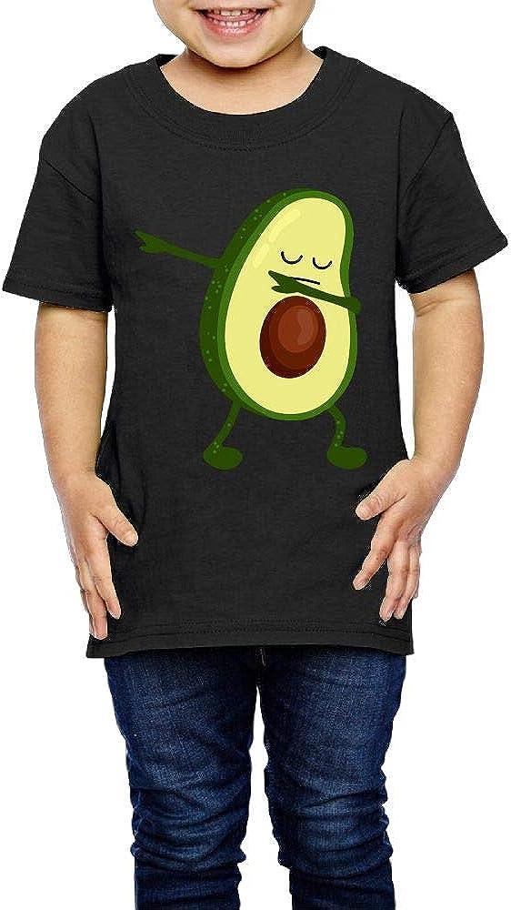 Kcloer24 Girls Boys Kawaii Avocado Organic T-Shirt Short Sleeve Tee for 2-6 Years Old