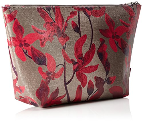 Oilily - Jolly Cosmeticpouch Lhz 1, Carteras de mano Mujer, Rot (Dark Red), 9x23x38.5 cm (B x H T)