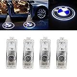 Grolish Cree Led 4 piece Car Door LED Lighting Logo Projector Door Step Light for BMW(4-Pack)