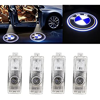 Grolish Cree Led 4 piece Car Door LED Lighting Logo Projector Door Step Light for BMW(4-Pack)  sc 1 st  Amazon.com & Amazon.com: HConce HD Projector Easy Installation Low Consumption ...