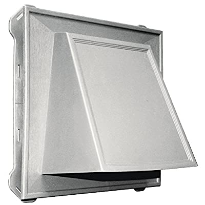 "Builders Edge 140086774030 8"" Hooded Vent 030, Paintable"