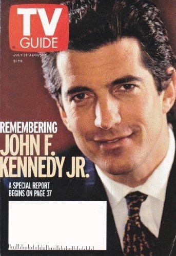 Download Tv Guide July 31 Aug 6 1999 John F Kennedy Jr Book Pdf