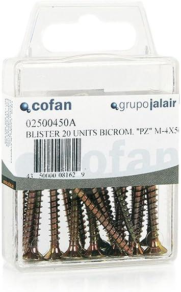 Tornillos Aglomerado DIN 7505A Medida:6,0 x 70 Und/Caja:3: Amazon.es: Bricolaje y herramientas