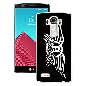 LG G4 Case,Aerosmith White For LG G4 Case