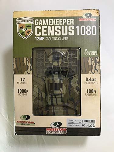 COVERT Mossy Oak – Gamekeeper Census 1080 – 12MP Scouting Camera Trail