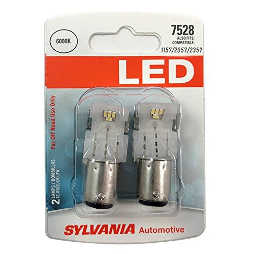 SYLVANIA 1157 White LED Bulb, (Contains 2 ()