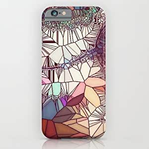 Abstract Glass Case For Samsung Note 4 Cover Case by Pink Berry Pattern
