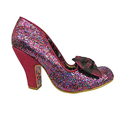 Irregular Choice Womens Nick Of Time Textile Shoes