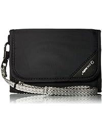 RFIDsafe V125 Anti-Theft RFID Blocking Tri-Fold Wallet, Black