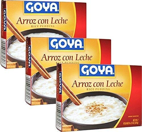 Arroz con Leche Rice Pudding 4 Servings 4.25 oz each Pack of 3 ()