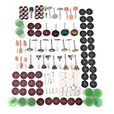 340pcs Rotary Tool Accessories Kit,Rotary Tool Accessory Set Fits For Grinding Sanding Polishing Tools