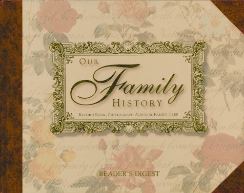 Our Family History: Record Book, Photograph Album & Family Tree (Album Tree Family)