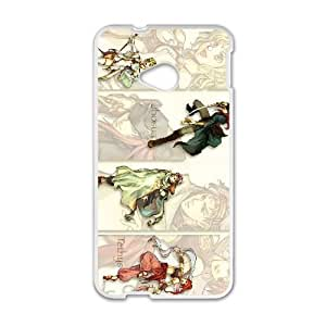 HTC One M7 Cell Phone Case White Fire Emblem The Sacred Stones JNR2032214